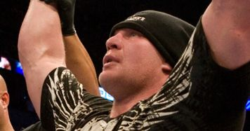 Brock Lesnar, new UFC heavyweight champion.