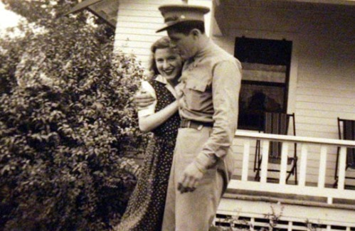 Madelyn and Stanley Dunham, During World War II