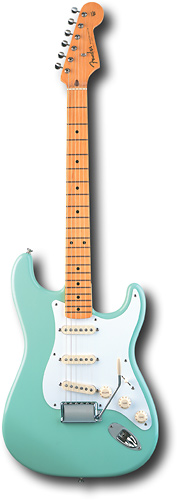 1950s Fender Stratocaster. The jingle that put the jangle into rock and roll.