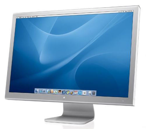 "The Apple 20"" Cinema Display: Brushed aluminum never looked so good."