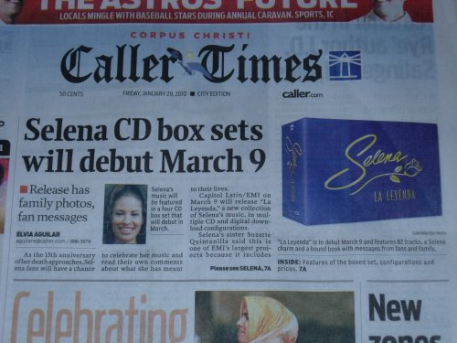 Selena box set - 15 annivesary