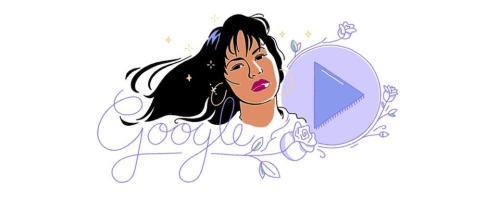 Selena Quintanilla Google Doodle