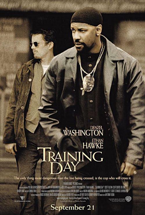 Ethan Hawke and Denzel Washington in Training Day.