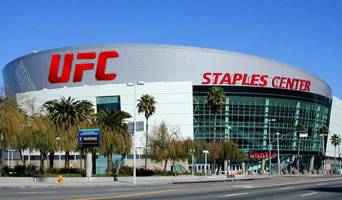 MMA ground zero for UFC104: The Staples Center in Los Angeles will the focus of media attention in September 2009.