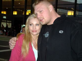 Brock Lesnar and wife Rena Mero
