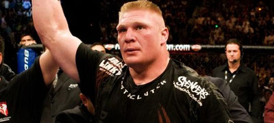 Brock Lesnar, UFC Heavweight Champion