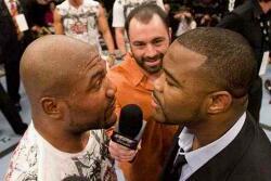 Evans vs Jackson Faceoff